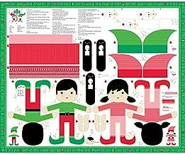 Moda Stacy Iest HSU North Pole Christmas 36 x 44 Repeat Doll Panel Multi
