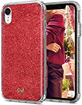 Ciel by CYRILL [Glitter Collection] Designed for Apple iPhone XR Case (2018) - Red Glitter