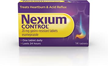 Nexium Control Heartburn and Acid Reflux Relief Tablets,