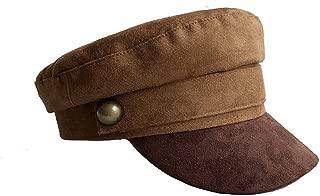 Chamois Leather Military Hat Men Women Flat Top Army Cap Custom Online Celebrity British Style Beret