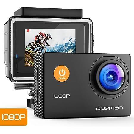 Apeman Action Cam 1080p Full Hd Unterwasser Aktion Kamera