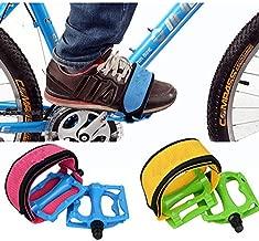 Cycling - Gear Bike Bicycle Pedal Foot Binding Band - Geosynchronous Mechanism Cycle Lash Rigid Unadjustable Wheel Flog Unchangeable Slash Repaired Paraphernalia Shoulder Strap - 1PCs