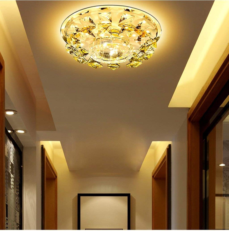 Innenbeleuchtung moderne, minimalistische Atmosphre Crystal Flur Flur Leuchten Deckenleuchten Lampen Creative Gang Deckenleuchten Led