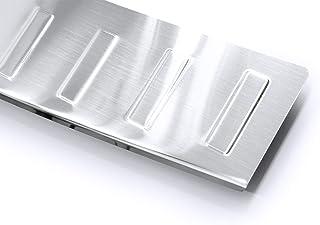 tuning-art 759 Protección para Parachoques Acero INOX