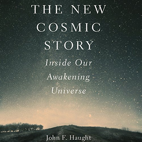 The New Cosmic Story audiobook cover art