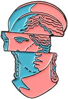 Regalo Dei Monili Lapel Badge Stupefacente Arte Dello Smalto Pin Segmentazione Modeling Spilla Fumetto Creativo Coat
