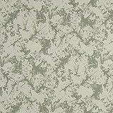 Fabulous Fabrics Softshell Khaki, Pflanze, 144cm breit