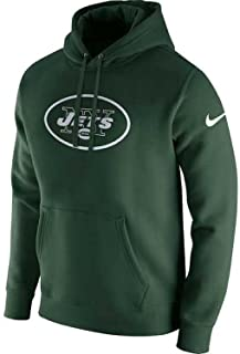 York Jets Club Fleece Pullover Hoodie - Green