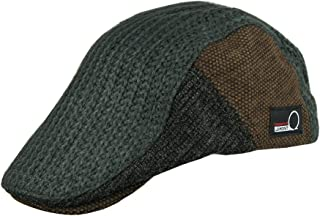 2bdd60a767b55 JAMONT Winter Warm Flat Cap Duckbill Hat Newsboy Ivy Irish Cabbie Scally Cap