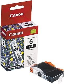 Canon S820 (BCI-6BK) Black Ink Cartridge Standard Yield