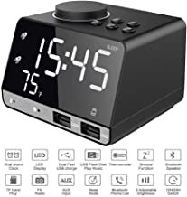Alarm Clock with USB Charger, 4.2
