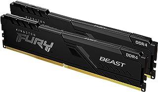 Kingston FURY Beast 32 GB (2 x 16 GB) 3200 MHz DDR4 CL16 Desktop Memory Kit van 2 KF432C16BB1K2/32