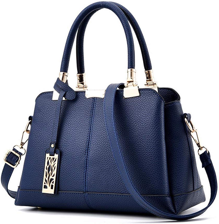 Hjayu Damen Handtaschen PU Leder Crossbody Tote Tasche Schultertaschen Umhängetasche Messenger Einfache B07QG8X7C2  Viel Spaß