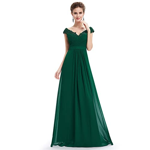 Emerald Green Evening Gown: Amazon.com
