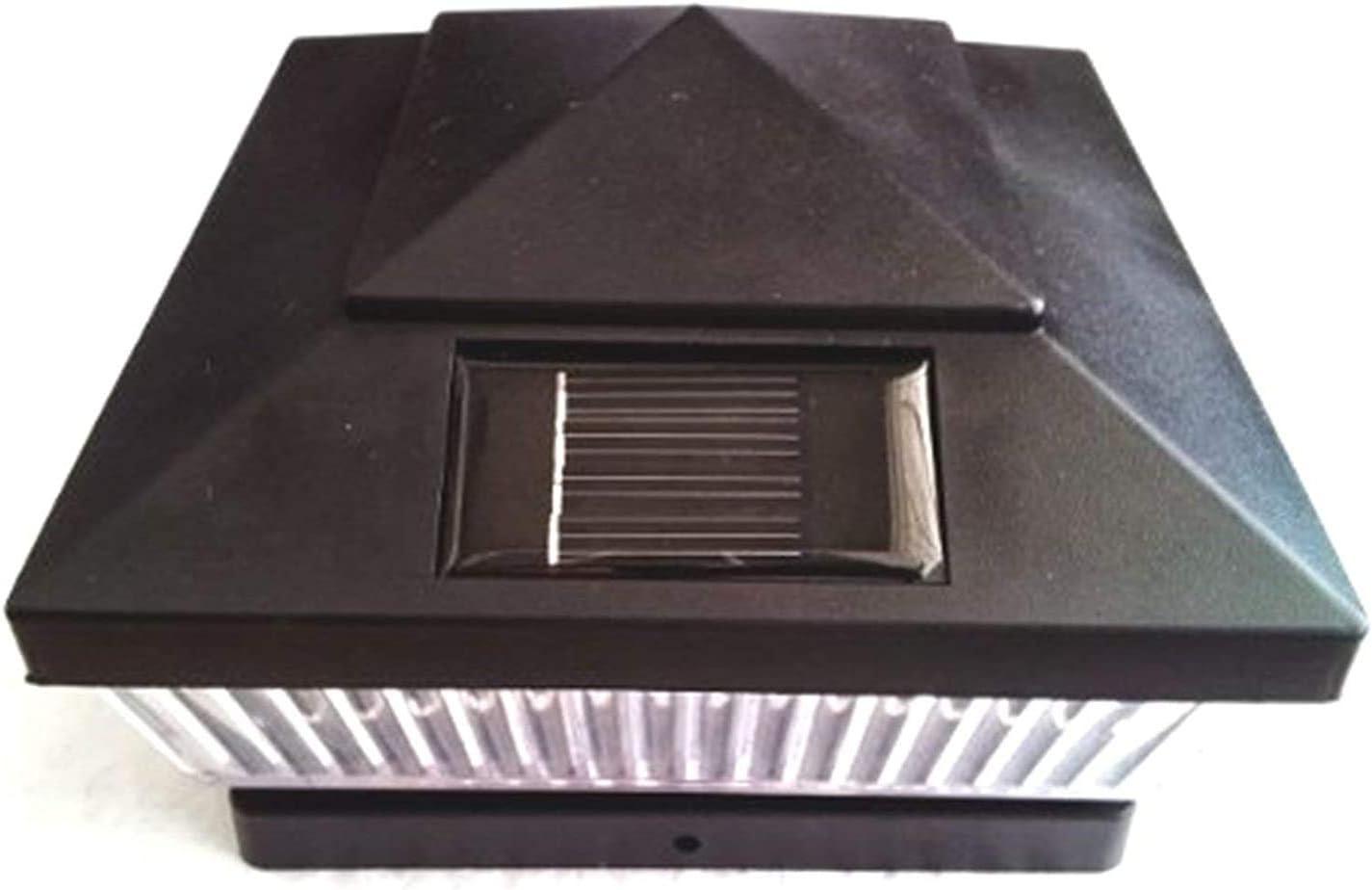 Classic Solar 5x5 ランキング総合1位 Powered Plastic 実物 LED F Patio Garden Square Deck