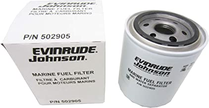 Quicksilver 816296Q2 Marine Engine in-Line Fuel Filter with Barbs for 5//16-Inch Fuel Lines 8 mm