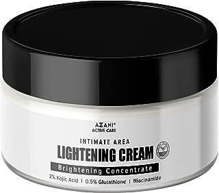Azani Active Care Intimate Area Lightening Cream   Intense Dark Spot Removal   Underarm, Hip, Thigh, Intimate Area, Neck, ...