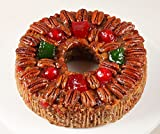 DeLuxe® Fruitcake 1 lb. 14 oz. Gourmet Food Gifts, Christmas Gifts, Holiday Gifts, Thanksgiving, Birthday for Men and Women, Corporate Gifts