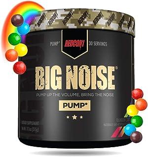 Redcon1 Big Noise Pump Formula (30 Servings) - Non-Stim, Increased Energy and Focus, Vasodilator, Intense Pumps (Rainbow C...