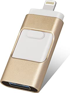 FKdm 128 GB/256 GB Memoria Externa Micro USB Almacenamiento Pen Drive USB Flash Drives para iPhone Jump Drive para iPhone iPad Android (256.0GB)