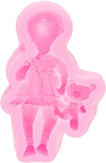 Oem 3D Silicone Mould Baby Boy Girl Barbie Doll Bear Cake Mold Fondant Mold Diy Cake Chocolate Baking Moulds Decorating Tools