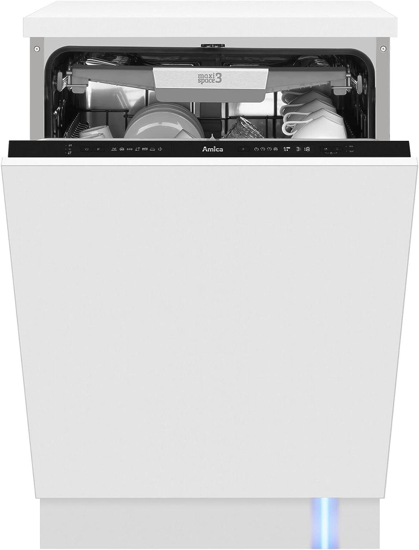 Amica DIM64D7EBOqH lavavajilla Semi-incorporado 14 cubiertos D