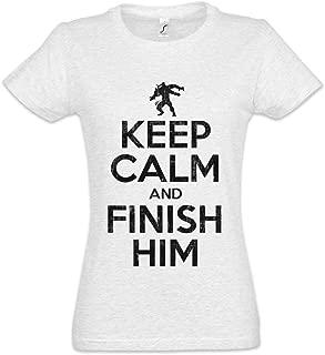 Urban Backwoods Keep Calm and Finish Him Women T-Shirt