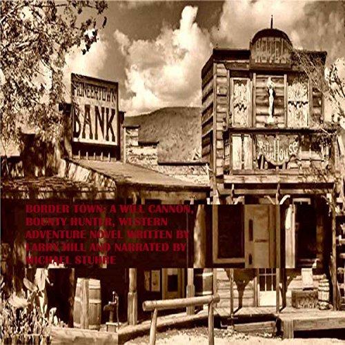 Border Town audiobook cover art