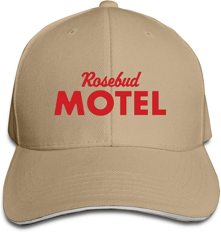 Rosebud Motel Unisex Simplicity Dad Cap Adjustable Washed Peaked Cap