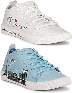 Claptrap Women Slipon Shoes (White-Paris-White)