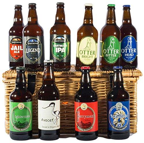 The Devon Ten Ales Hamper - Standard Box