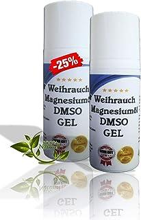 Leivys DMSO Gel - Salbe  Weihrauch Auszug mit Magnesiumöl, bequeme Anwendung, effektive Wirkung 100ml
