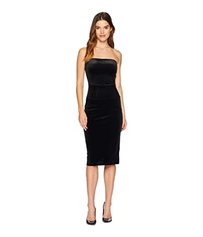 KAMALIKULTURE by Norma Kamali Strapless Dress (Black 1) Women