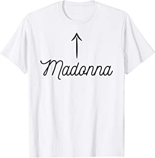 T-Shirt that says the name - Madonna | for Women Girls Kids