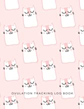 Ovulation Tracking Log Book: 65 Pages Easy-Carry Slim Log Book With Tables | Manual Pregnancy Test Strip & Ovulation Test ...