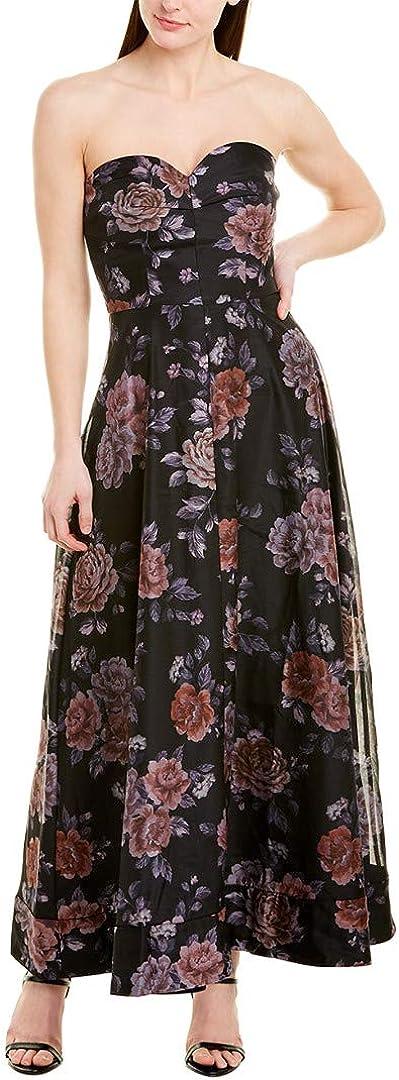 Keepsake The Label Women's Atomic Strapless A-line Long Gown Dress