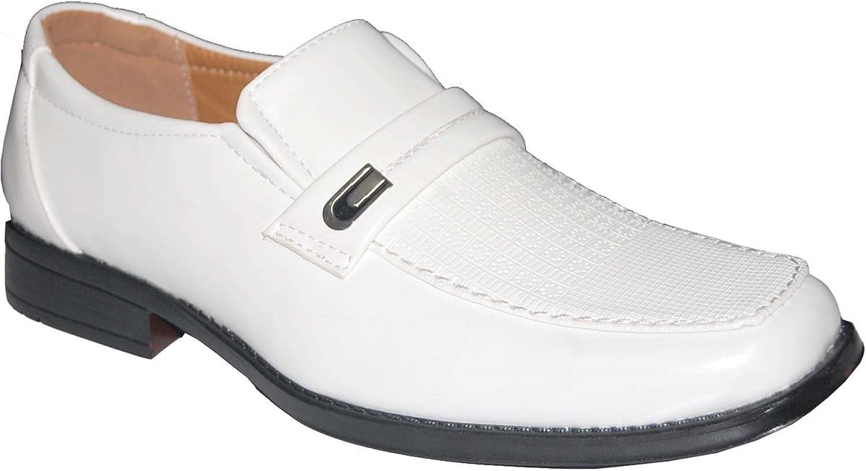 KRAZY SHOE ARTISTS Success White Men's Dress shoes,