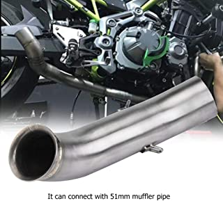 Motorcycle Full Exhaust System Vent Middle Pipe Link Connect for KTM DUKE 250 390 RC390 17-18