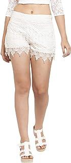 Martini Women's Regular Fit Net Shorts