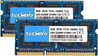 TECMIYO DDR3 1066 DDR3 1333 SODIMM UDIMM RAM... DDR3 1333 8GBX2 DDR3L 1333 SODIMM