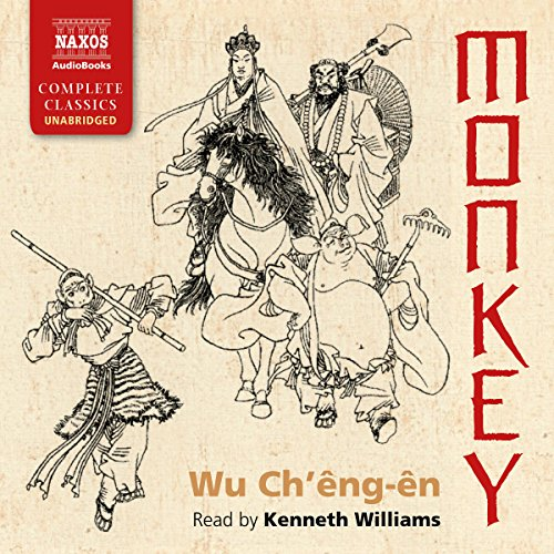 Monkey audiobook cover art