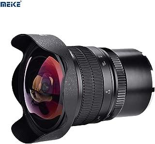 Acouto Black 8mm f//3.8 Wide Angle lens Full Frame Fisheye Lens for Micro 4//3 MFT M4//3 E-PL7