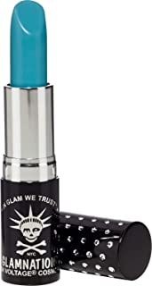 Manic Panic Atomic Turquoise Lethal Lipstick, Smooth Shade of Aqua Lipstick, Kitten Colors Lipsticks, Rich, Velvety Matte Finish, Vegan & Cruelty Free, Long Lasting Moisturizing Vegan Turquoise