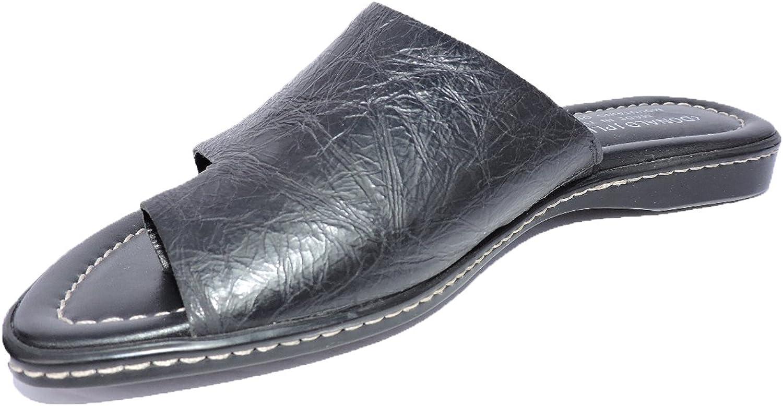 Donald J Pliner kvinnor Gyles Slide Sandals svart Sandals Flats Storlek 6 M