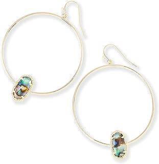 Best kendra scott hoop earrings with stone Reviews