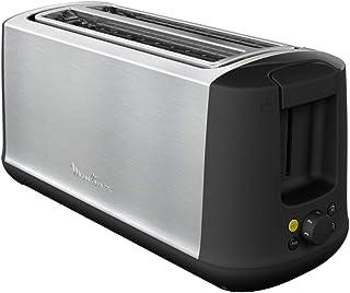 Moulinex Subito 4 Grille-pain,2longues fentes, 1700 W, Mode éco, Thermostat 7 positions, Centrage du painLS342D10