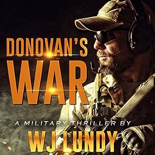 Donovan's War audiobook cover art