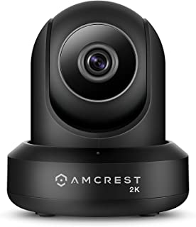 Amcrest UltraHD 2K (3MP/2304TVL) WiFi Video Security IP Camera with Pan/Tilt, Dual Band 5ghz/2.4ghz, Two-Way Audio, 3-Mega...