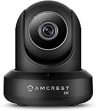 Amcrest UltraHD 2K (3MP/2304TVL) WiFi Video Security IP Camera with Pan/Tilt, Dual Band 5ghz/2.4ghz, Two-Way Audio, 3-Mega...