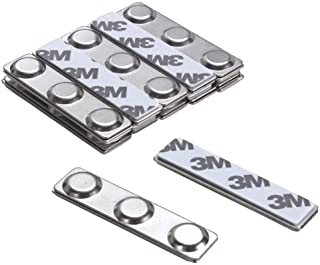 HAZOULEN 12 Sets Name Badge Magnets, Magnetic Name Tag Holders with 3 Neodymium Magnets